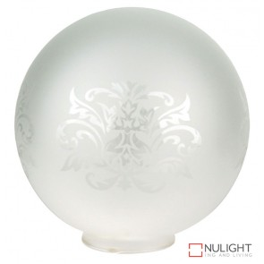 Repl. Etched Frost Sphere Glass Only Olrg-1401 ORI
