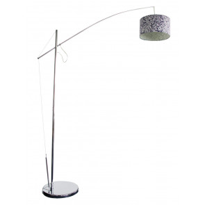 Cantilever Floor Lamp Base in Chrome Oriel