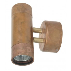 Comma 2 Light Wall Sconces in Copper Oriel Lighting