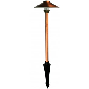 Goya 16cm Path Light in Copper Oriel Lighting