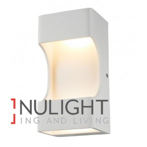 WALL INTERNAL Surface Mounted CITY LED MATT White OPEN Rectangular Up Down 12W 120D 3000K (574 Lumens) CLA