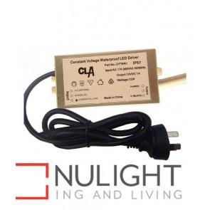 DRIVER LED 12V DC CONSTANT VOLTAGE 1-12W IP67 WP CLA