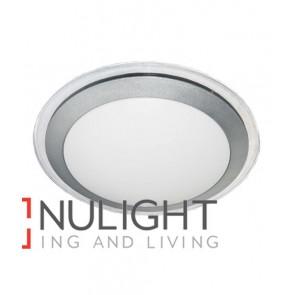 OYSTER LED SIL/CLR TRIM  Round 3000K 28W 120D 430mm IP44 (1400 Lumens) CLA