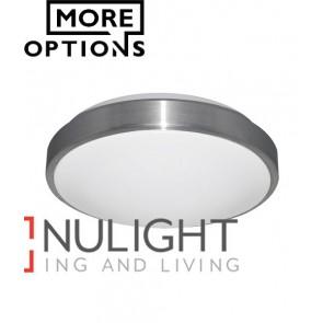 LED Round Brushed Trim Oysters CLA
