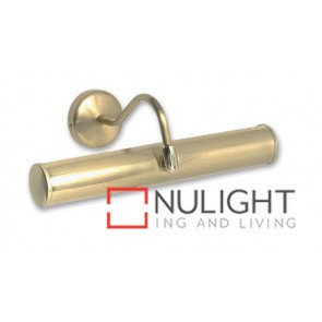 Picture Light 2Xe14 40W Brushed Brass ASU