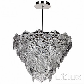 Peria 6 Lights Pendant Chrome Citilux