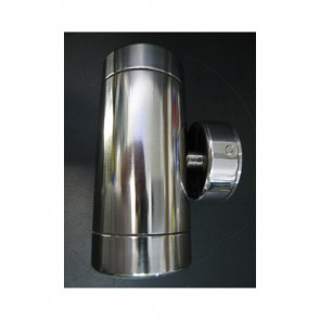 Polished Stainless Steel LED Wall Light Prisma