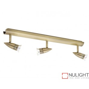 Proton 3 Light Rail Antique Brass COU