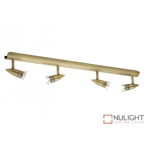 Proton 4 Light Rail Antique Brass COU