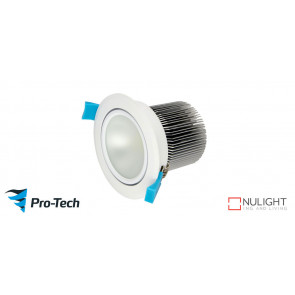 10w Premium LED with Gimble White Downlight VTA