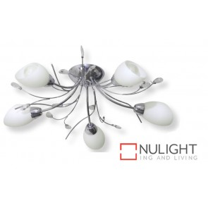 Decor 5 Light Ceilng Light Chrome 40W ASU
