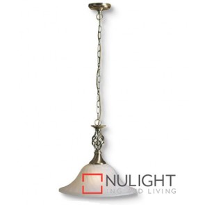 Devon Decor 1 Light Pendent Antique Brass ASU