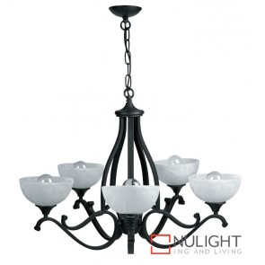 Decor 5 Light Pendant Dark Brown ASU