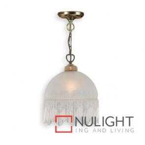 Decor 1 Light Pendant Victoriana Antique Brass ASU