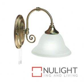 Decor 1 Light Wall Antique Brass ASU