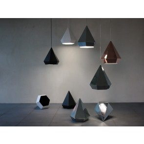 Replica Diamond Pendant Lamp by Sebastian Scherer - Pendant Light - Citilux