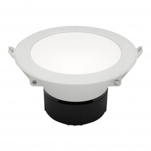 Retina 10W LED Downlight 3000k White MEC