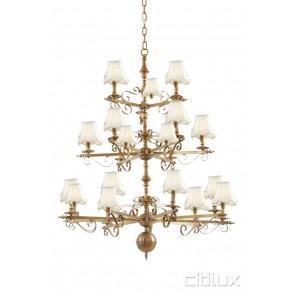 Riverview Classic European Style Brass Pendant Light Elegant Range Citilux