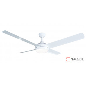 REGAL - 52 inch 1300mm  Cast Alloy Motor Housing - 4 x Aluminium White  Blade - LED Light fitting attached VTA