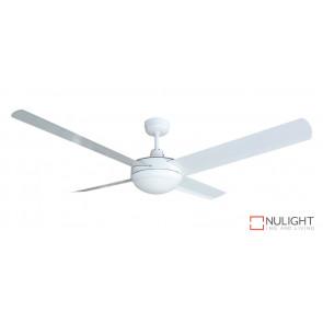 Regal with Light 1200mm ceiling fan white aluminium blades VTA