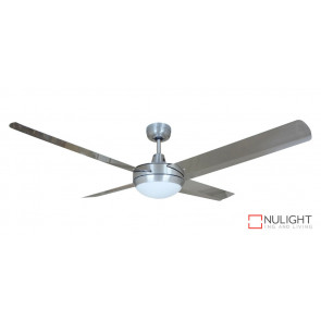 REGAL - 48 inch 1200mm  Cast Alloy Motor  Housing - 4 x 304 Stainless Steel Blades with 28 degree pitch - Light fitting attached VTA