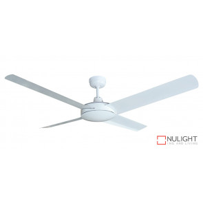 REGAL - 52 inch 1300mm Cast Alloy Motor Housing- 4 x Aluminium White Blades with 28 degree pitch VTA