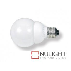 Lamp Self Ballasted Fluro 11W E27 Warm White Ball ASU
