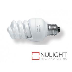 Lamp Self Ballasted Fluro Spiral14W E27 Warm White ASU