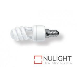 Lamp Self Ballasted Fluro Mini 7W E14 Warm White ASU