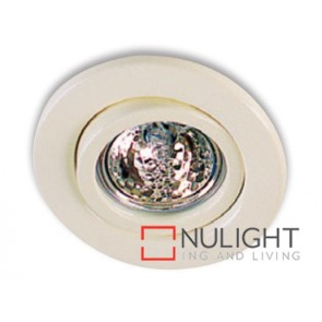 Downlight Halogen Gu10 Tilt Cream ASU