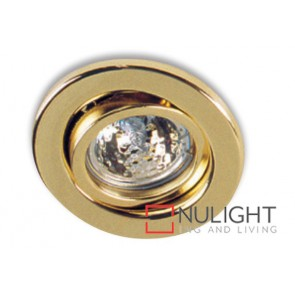 Downlight Halogen Gu10 Tilt Gold ASU
