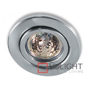 Downlight Halogen Gu10 Tilt Satin Chrome ASU
