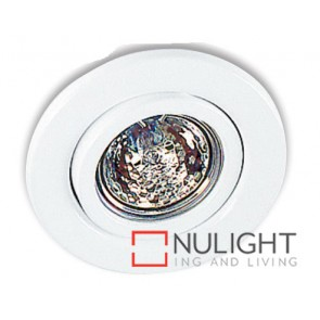 Downlight Halogen Gu10 Tilt White ASU