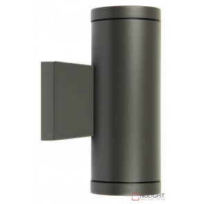 Metro Twin Wall Light Gu10 In Graphite  ORI
