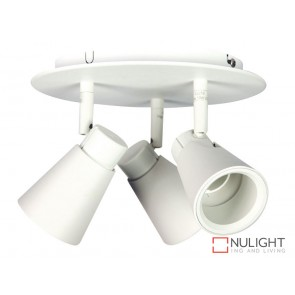 Zoom Led Rondell 3Lt Spot White ORI