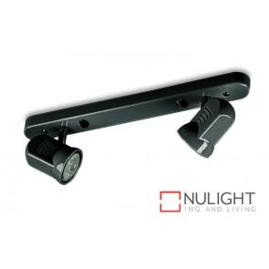 Spot Halogen Double Bar Switch Black Gu ASU