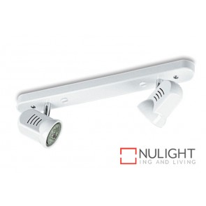 Spot Halogen Double Bar Switch White Gu ASU