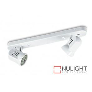Spot Halogen Double Bar Switch White Gu ASU