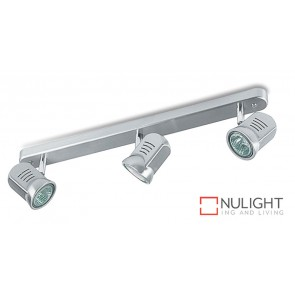 Spot Halogen Triple Bar Satin Chrome ASU