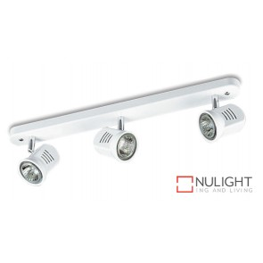 Spot Halogen Triple Bar White Gu ASU