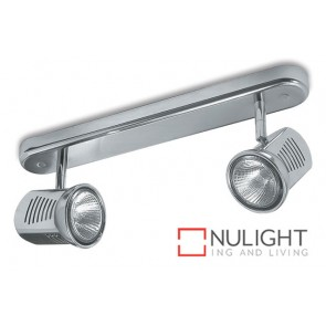Spot Halogen 75W Bar 2 Satin Chrome ASU
