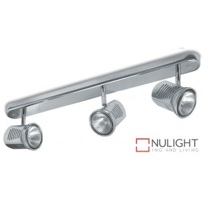 Spot Halogen 75W Bar 3 Satin Chrome ASU