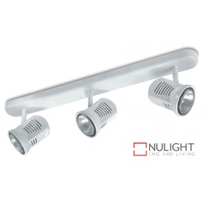 Spot Halogen 75W Bar 3 White ASU