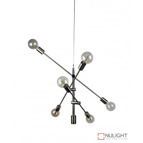 Chelsea 6 Light Pendant Antique Brass ORI