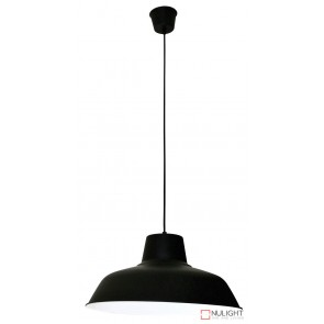 Forge 430 Single Pendant Black ORI