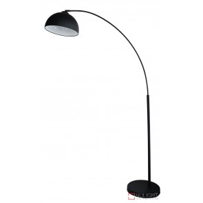 Dome Arc Floor Lamp Matt Black ORI