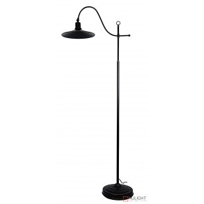 Boston Floor Lamp Rubbed Bronze ORI