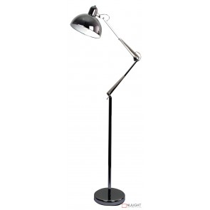 Bianca Anglepoise Floor Lamp Chrome ORI
