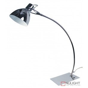 Oslo Desk Lamp Bright Chrome ORI