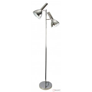 Vespa Twin Floor Lamp Chrome ORI